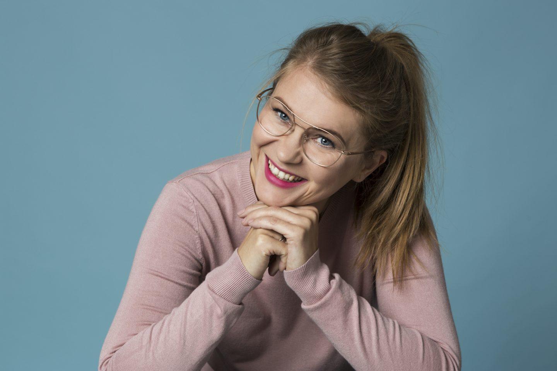 Patrycja Grzybowska - stylistka opraw okularowych