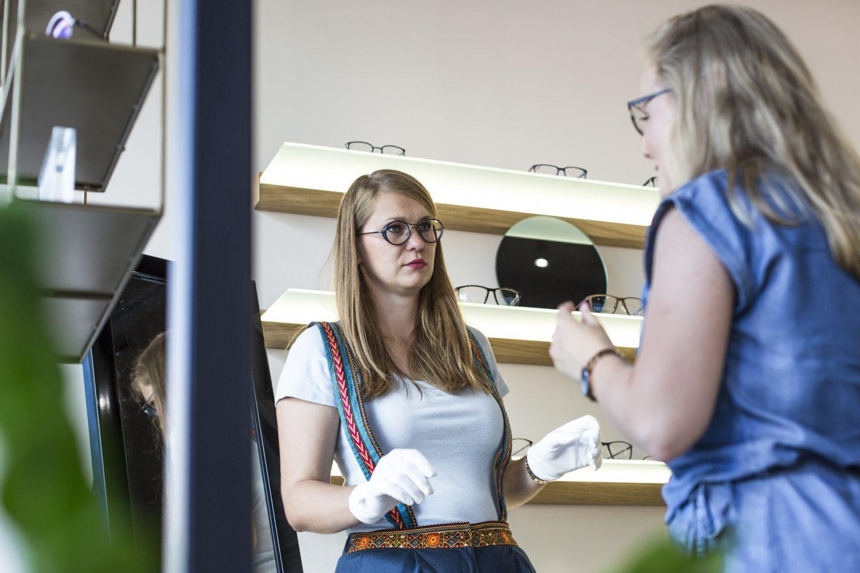 Dobór opraw do okularów w Warszawie