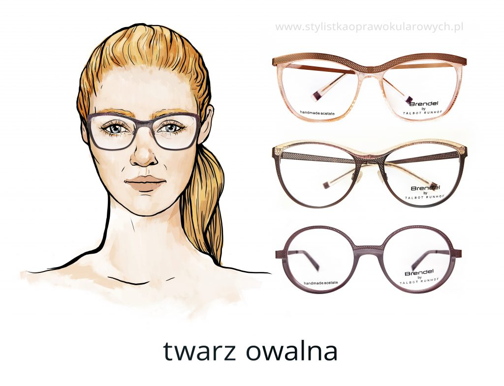 """b52777758d610c Damskie oprawki typu """"motyl"""" to stylowa propozycja dla kobiet o twarzy  owalnej, które chciałyby uwydatnić delikatne, kobiece rysy."""