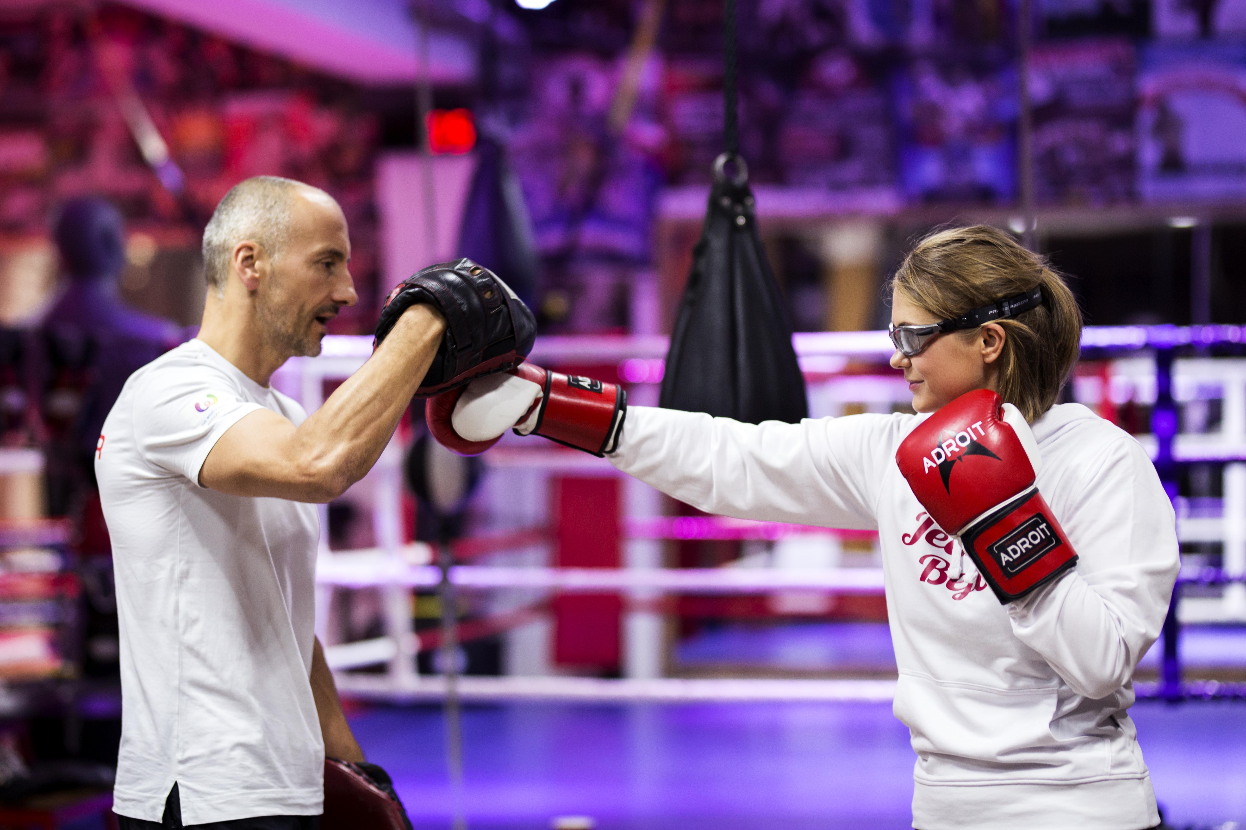 Trening ogólnorozwojowy z elementami boksu