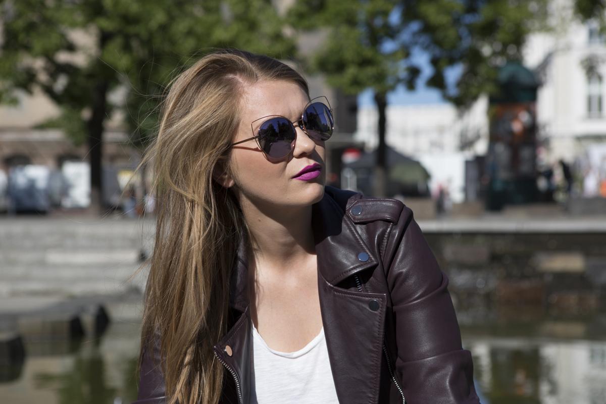 SOLANO okulary przeciwsłoneczne kocie oko