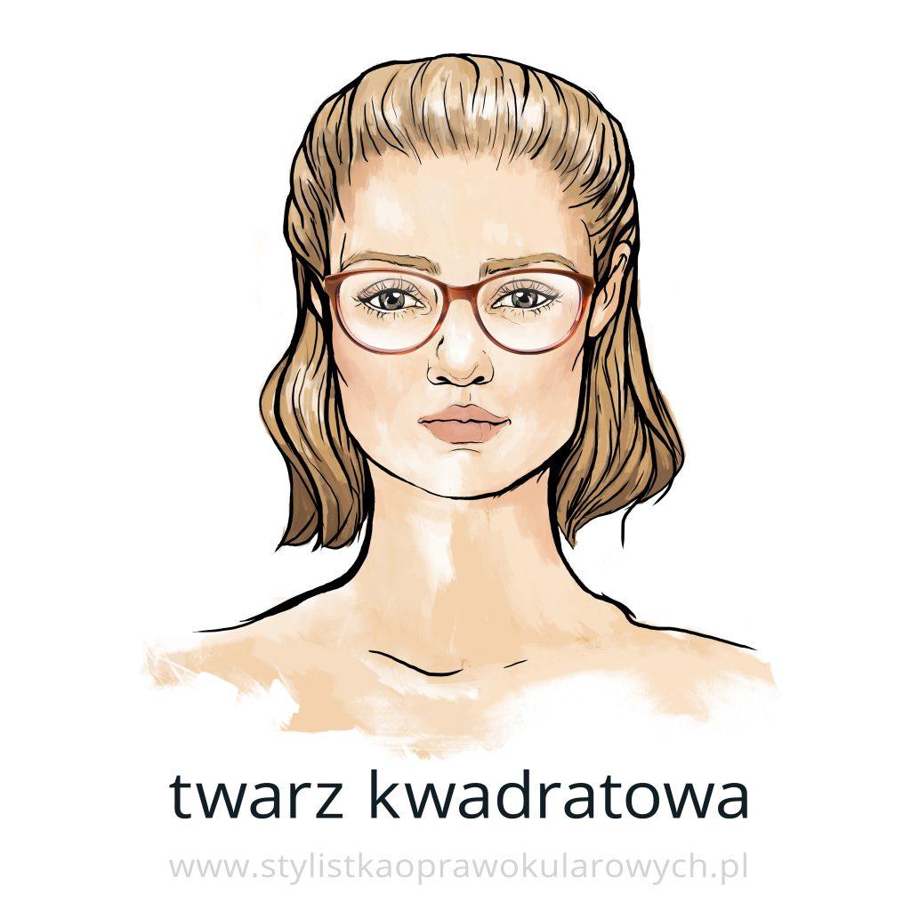 Kształty twarzy: twarz kwadratowa