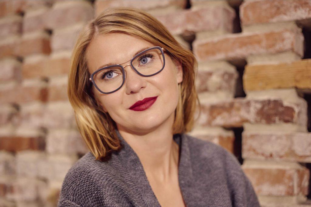 Modne okulary 2019: oprawki z podwójnym mostkiem Brendel eyewear (model 902260)