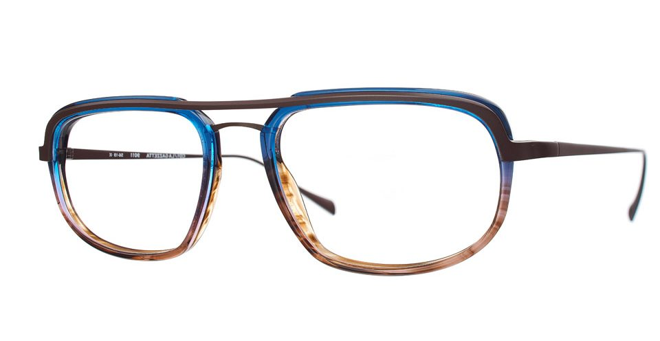Talla LAGAZETTA9011 duże męskie okulary