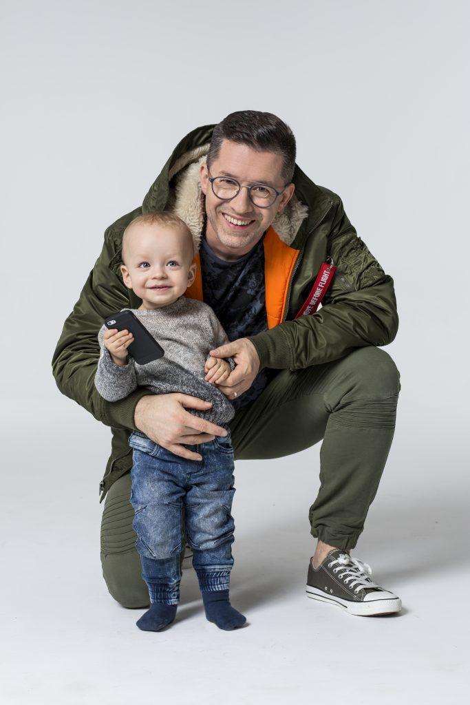Duże męskie okulary Titanflex Eschenbach Optik Polen