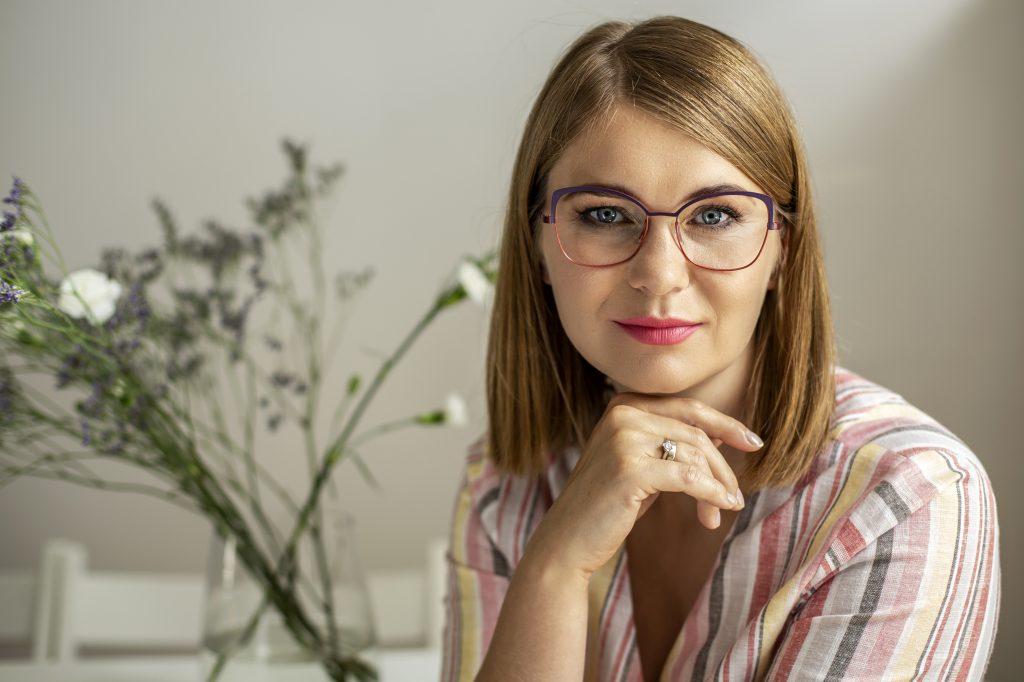 Okulary dla małych oczu Caroline Abram YAEL 582