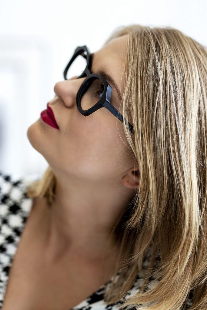 Nietypowe damskie okulary Gard
